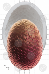 'Dragon Egg (Extra Large)' Silicone Mould